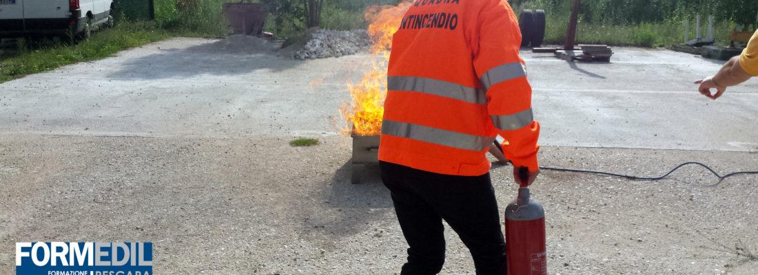 Corso in partenza: Addetto Antincendio Rischio Medio
