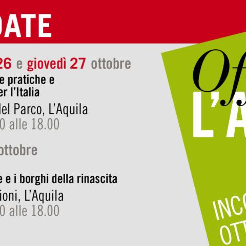Officina L'Aquila : Save the Date