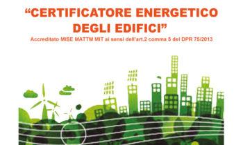 Corso per Certificatore Energetico degli Edifici: Aperte le Iscrizioni
