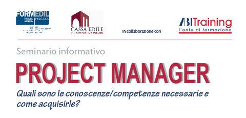 """Seminario Informativo """"Project Manager"""" – Giovedì 12 luglio 2018 ore 14.30"""