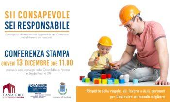 Conferenza stampa ore 11:00 presso Cassa Edile Pescara